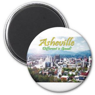 Asheville...Different is good! Fridge Magnets