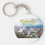 Asheville...Different is good! Key Chain