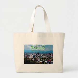 Asheville...Different is good! Large Tote Bag