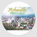 Asheville...Different is good! Stickers