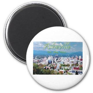 Asheville...Eat..Sleep...Paint 2 Inch Round Magnet