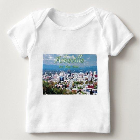 Asheville...Eat..Sleep...Paint Baby T-Shirt