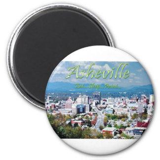 Asheville...Eat..Sleep...Paint Refrigerator Magnets