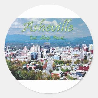 Asheville...Eat..Sleep...Paint Sticker