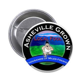 Asheville Local Fool Pin