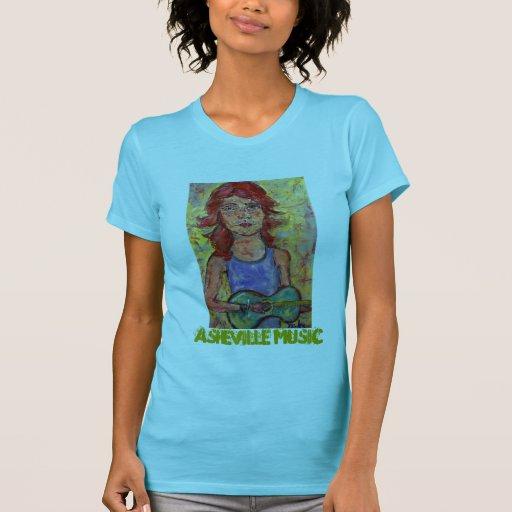 Asheville music t shirt zazzle for Asheville t shirt company