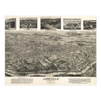 Asheville, NC 1912 Postcard