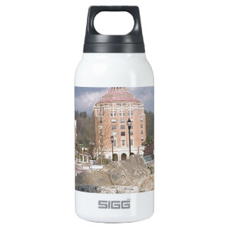 Asheville nc fountain insulated water bottle