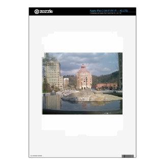 Asheville nc fountain iPad 3 skin