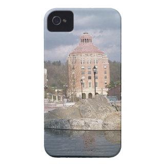 Asheville nc fountain iPhone 4 Case-Mate case