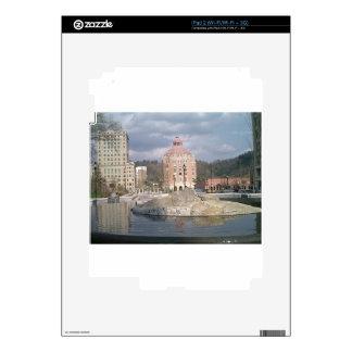 Asheville nc fountain skin for iPad 2