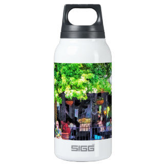Asheville NC Outdoor Cafe SIGG Thermo 0.3L Insulated Bottle