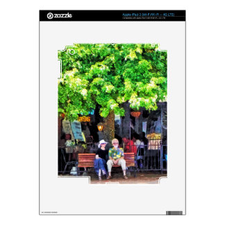 Asheville NC Outdoor Cafe iPad 3 Skins