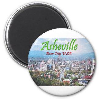 ASHEVILLE, NORTH CAROLINA 2 INCH ROUND MAGNET