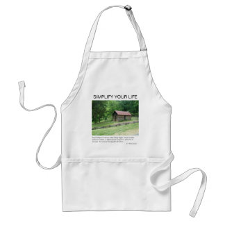 Asheville, North Carolina Adult Apron