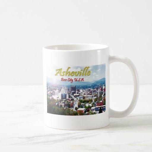 ASHEVILLE, NORTH CAROLINA Beer City USA Coffee Mug