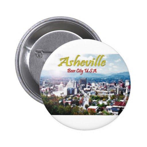 ASHEVILLE, NORTH CAROLINA Beer City USA Pins