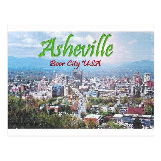 ASHEVILLE, NORTH CAROLINA POST CARD