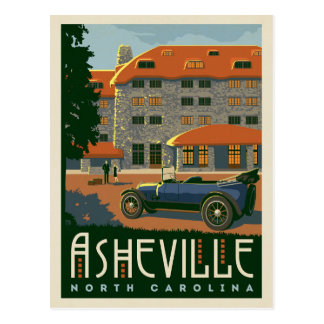 Asheville, North Carolina Postcard