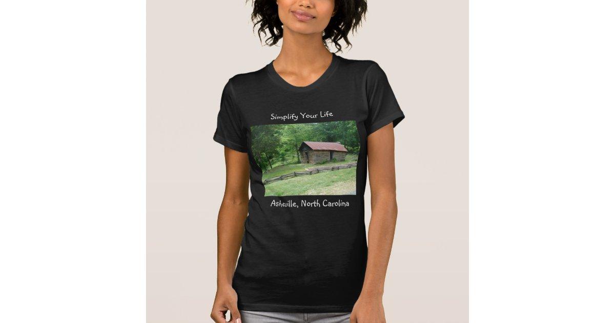 Asheville north carolina t shirt zazzle for Asheville t shirt company