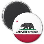 Asheville Republic Magnet