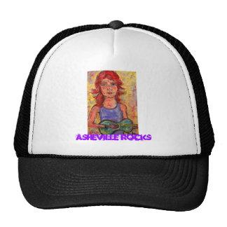 Asheville Rocks Trucker Hat