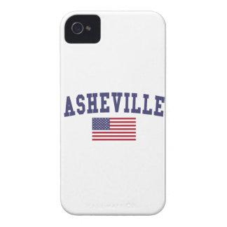 Asheville US Flag Case-Mate iPhone 4 Case