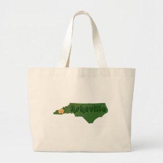 Asheville verde bolsa tela grande