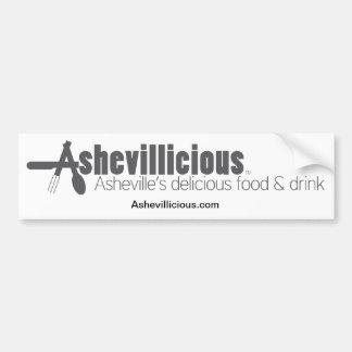 Ashevillicious Car Bumper Sticker