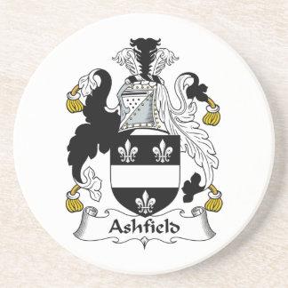 Ashfield Family Crest Coasters