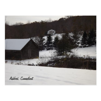 Ashford, Connecticut Postcard