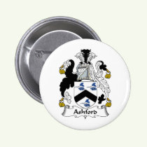 Ashford Family Crest Button