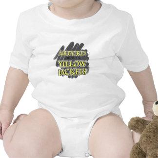 Ashford High School Yellow Jackets - Ashford, AL Baby Creeper