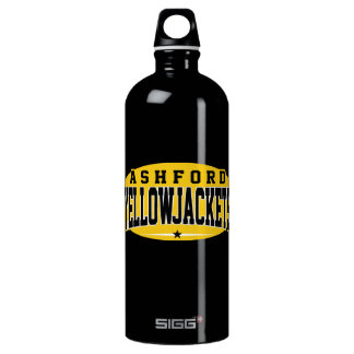 Ashford High School; Yellowjackets Aluminum Water Bottle