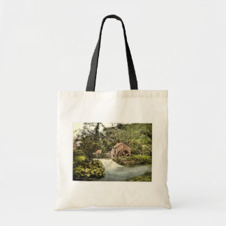 Ashford, old mill, Derbyshire, England rare Photoc Bags