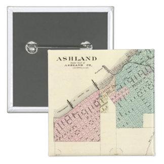 Ashland and Menomonie, Wis Pins