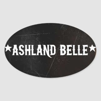 Ashland Belle Stickers