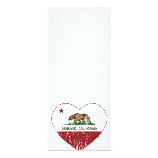 Ashland California Republic Heart Distressed Card