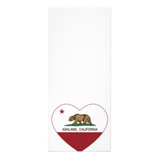Ashland California Republic Heart Personalized Invitation