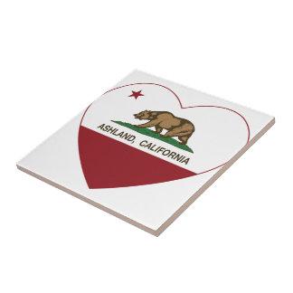 Ashland California Republic Heart Tiles