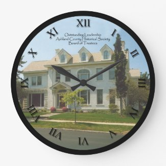 Ashland County Historical Society Clock - Trustee