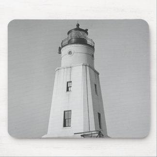 Ashland Harbor Breakwater Lighthouse Mouse Pad