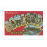 Ashland, Kentucky - escenas grandes de la letra Tarjeta Postal