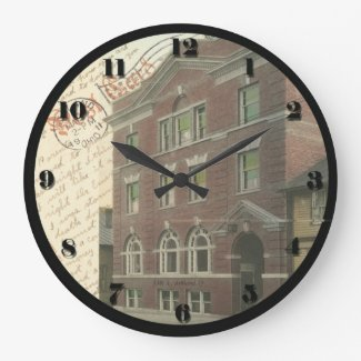 Ashland, Ohio Post Card Clock - YMCA 1911