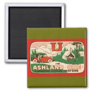 Ashland Oregon 2 Inch Square Magnet