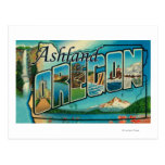 Ashland, Oregon - escenas grandes de la letra Postal