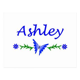 Ashley (Blue Butterfly) Postcard