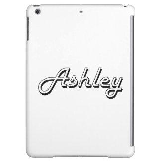 Ashley Classic Retro Name Design iPad Air Covers