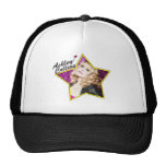 Ashley Collins Black and White Star Hat.