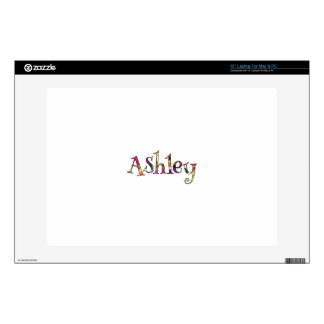 "Ashley Colorful Minimalist 13"" Laptop For Mac & PC 13"" Laptop Decal"